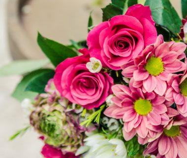 Zielone Centrum kwiaty cięte bukiety